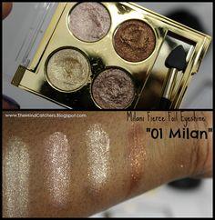 @milanicosmetics NEW Fierce Foil Eyeshine. #makeup #swatches #milani