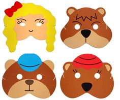 Shop Teaching Resource Sack - Goldilocks & the 3 Bears Story Play Mask Set. Free delivery and returns on eligible orders of or more. Bears Preschool, Preschool Themes, Kindergarten Activities, Preschool Activities, Fairy Tale Theme, Fairy Tales, Character Activities, Bear Mask, Learning English For Kids
