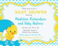 Banner de fiesta decoraciones  invitación Baby por bcpaperdesigns