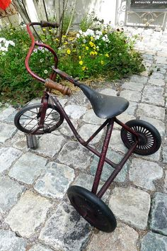 アンティーク三輪車 French antique tricycle ¥ 49,800yen