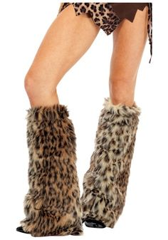 Welcome to the Jungle - animal leg warmers