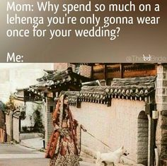 And each function's outfit takes meticulous planning and a shit load of money. | 14 Pictures Everyone Who's Been To An Indian Wedding Will Recognise