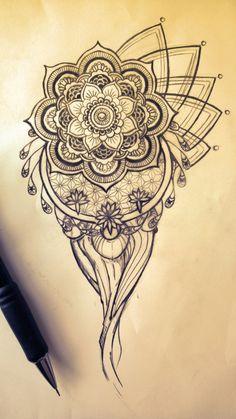 ideen und zeichnungen für mandalas