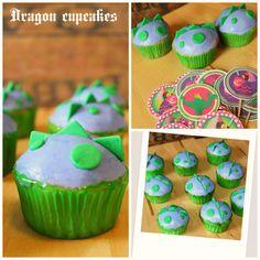 Dinosaur cupcakes or Puff the Magic Dragon.