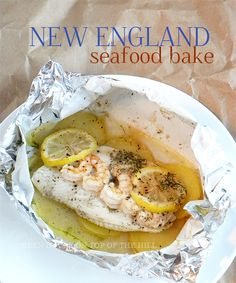 """Grilled New England Seafood """"Bake"""" Recipes — Dishmaps"""