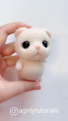Hello this time I will share a DIY video tutorial made a doll that you can emulate at home ideen videos weihnachten 20 Pretty Doll Diy Ideas and Crafts Part 15 Bunny Crafts, Cute Crafts, Sock Crafts, Simple Crafts, Needle Felted Animals, Felt Animals, Needle Felting Tutorials, Felt Cat, Pretty Dolls