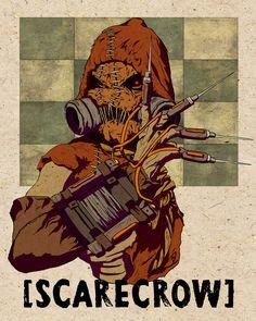 Scarecrow from Batman: Arkham Asylum