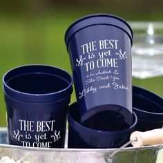 22 Ounce plastic stadium cups available in 8 color options personalized with choice of engagement party design and up to 4 lines of custom print. Fall Engagement Parties, Engagement Party Decorations, Wedding Engagement, Bridal Decorations, Engagement Ideas, Surprise Engagement Party, Engagement Quotes, Engagement Party Favors, Engagement Rings