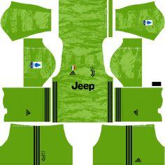Juventus 2019-2020 Kits & Logo Dream League Soccer Juventus Goalkeeper, Juventus Team, Goalkeeper Kits, Juventus Logo, Liga Soccer, Upcoming Matches, Soccer Kits, Color Kit, Messi