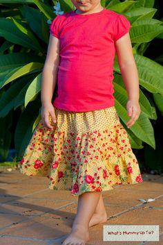 Twirly Tiered Skirts