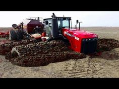 Biggest Tractors In The World - YouTube