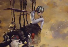 Arcanum for the Patron Grey, No.1 by Joe Sorren