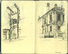 100+ moleskine sketchbook sketches