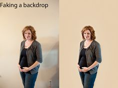 Photoshop Tutorial: Faking a Backdrop