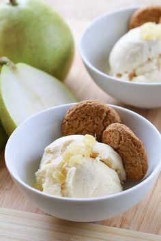 Pear & Ginger Ice Cream