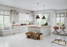 Luxur y Küche Design Moderne-Layout . Kitchen Time, Kitchen Pantry, New Kitchen, Kitchen Dining, Kitchen Decor, Kitchen Appliances, Wood Interior Design, Interior Design Living Room, Apartment Kitchen