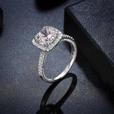 Wedding Ring 2 Carat Round Brilliant Cubic Zirconia Engagement
