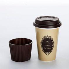 """Coffee-to-go-Becher """"Ich bin schöner"""""""
