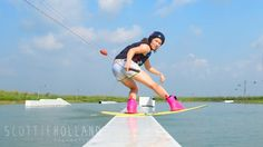 Republic Wakepark Philippines, pic by Scottie Holland Photography, wakeboarding girl, Eli Fuchs