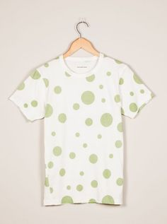 Universal Works Ecru Yayoi Tee in Single Jersey
