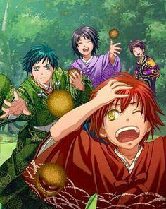 Shall we date : Destiny Ninja - Enya, Kazemasa, Sohma, Goyo