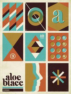 Old 'Flat' School, el estilo del tejano Alex Roka | Blog de diseño gráfico y creatividad.
