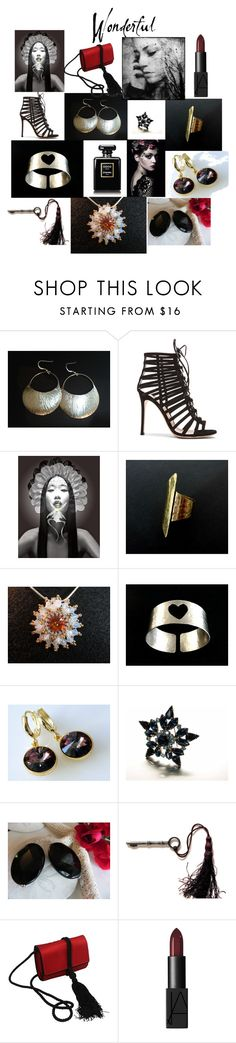 Wonderful ! by anna-recycle on Polyvore featuring Gianvito Rossi, Salvatore Ferragamo, NARS Cosmetics and vintage