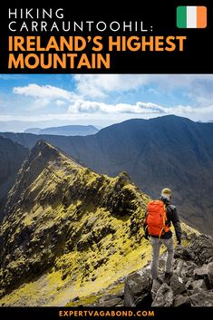Have you ever dreamed of Hiking Carrauntoohil? Ireland's Highest Mountain! This epic trek should be on your bucket list.   More at ExpertVagabond.com #Mountain #Hike #Ireland #Europe #Adventure #Travel