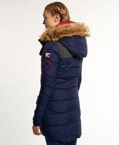 Superdry Dark Element Hooded Parka Jacket
