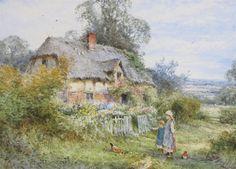 Watercolour by Henry John Sylvester Stannard