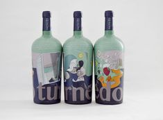 Turnedo Wine. Diseño de Cabello x Mure. www.turnedowine.com