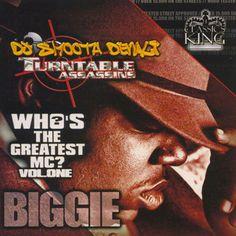 Biggie Smalls Who's The Greatest MC Vol. 1 Collection Mixtape CD Compilation #PressureMP3.com