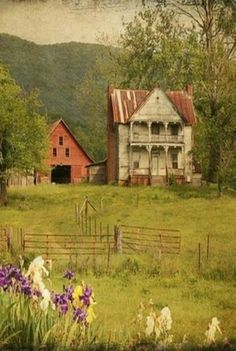 This old house sits near Hwy 11 in Tennessee, near Chatanooga. This reminds me of my grandparents place in PA.