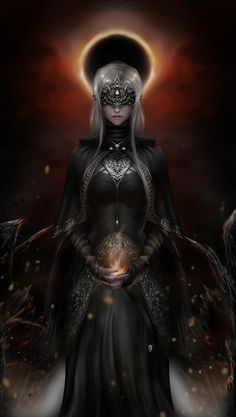 A commission fanart of the dark souls 3 firekeeper Fantasy Art Women, Dark Fantasy Art, Fantasy Girl, Fantasy Artwork, Dark Art, Dark Souls 3, Arte Dark Souls, Dark Souls Fire Keeper, Magic Anime