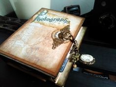 "Meg's Garden: ""Vintage Journal"" Toilet paper rolls Photo albums"