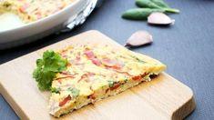 Tämä uunimunakas on pizzan ohella ehdottomasti paras tapa tyhjentää ruokakaapit. Quiche, Pizza, Snacks, Breakfast, Morning Coffee, Appetizers, Quiches, Treats