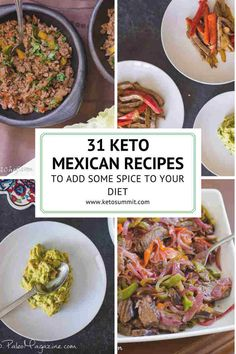 Get this list of Keto Mexican Recipes here. Try great flavors by adding new ideas on traditional foods or just by tasting something new.