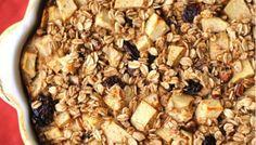Healthy Family Brekkie : Apple Raisin Baked Oatmeal [Make Ahead Freezer Meals]