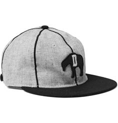 Ebbets Field Flannels - 1935 Detroit Cubs Appliquéd Wool Baseball Cap - Gray From Mr Porter Flat Cap, Mr Porter, Mens Caps, Hats For Men, Caps Hats, Cubs, Baseball Cap, Detroit, Flannels