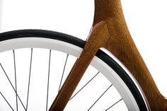 Cio bikes   Cio Park   Wood / carbon step through in silky oak     Ciobikes.com