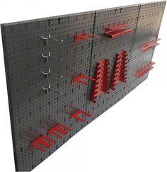 Werkzeugwand Lochwand Werkstattwand Werkstatt 3 Lochwände Hakensatz 14 Teile in Heimwerker, Werkstattausrüstung, Lagersysteme | eBay