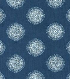 Nate Berkus Home Decor Print Fabric-Baltic