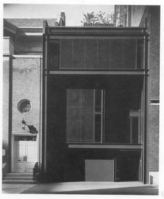 Halston Residence, 101 East 63th Street, New York, designed in 1966, architect : Paul Rudolph