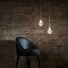 crystal light bulbs by Lee Broom