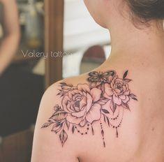 12 Tattoos, Rosen Tattoos, Body Art Tattoos, Small Tattoos, Cool Tattoos, Tatoos, Unique Tattoos For Women, Tattoos For Women Half Sleeve, Shoulder Tattoos For Women