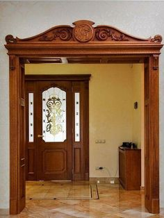 Benefits that you could derive by using the interior wood doors for your home or office. Pooja Room Design, House Design, Wooden Doors Interior, Wood Doors, Doors Interior, Ceiling Design, Entrance Door Design, Wood Doors Interior, Front Door Design