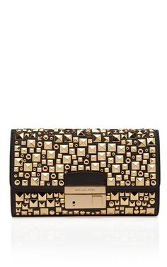 Shop Gia Studded Clutch by Michael Kors Now Available on Moda Operandi