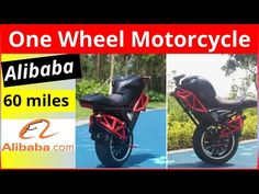 ONE Wheeled Electric MOTORCYCLE || ALIBABA's Electric Scooter - YouTube Best Electric Scooter, Electric Vehicle, Electric Cars, Automobile, Motorcycle, Youtube, Car, Motorcycles, Autos