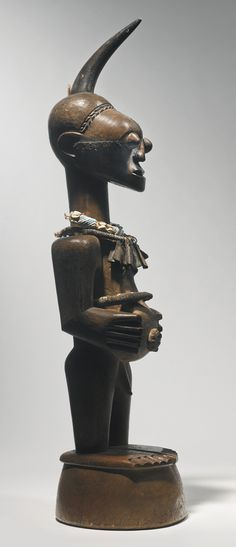 Songye Male Power Figure by the Master of the Bulbous Copper Eyes, Democratic Republic of the Congo | lot | Sotheby's