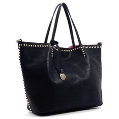 Pippa handbag in black- $69.00 Tote with smaller removable bag inside.